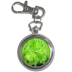 Splashes Of Color, Green Key Chain Watches