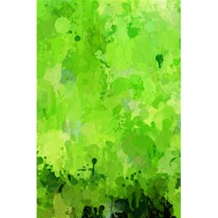 Splashes Of Color, Green 5 5  X 8 5  Notebooks