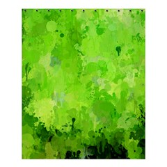 Splashes Of Color, Green Shower Curtain 60  X 72  (medium)