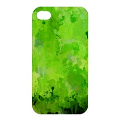 Splashes Of Color, Green Apple iPhone 4/4S Hardshell Case