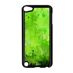 Splashes Of Color, Green Apple iPod Touch 5 Case (Black)