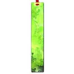 Splashes Of Color, Green Large Book Marks