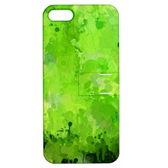 Splashes Of Color, Green Apple iPhone 5 Hardshell Case with Stand
