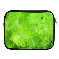 Splashes Of Color, Green Apple iPad 2/3/4 Zipper Cases
