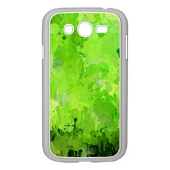 Splashes Of Color, Green Samsung Galaxy Grand DUOS I9082 Case (White)