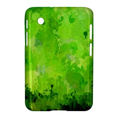 Splashes Of Color, Green Samsung Galaxy Tab 2 (7 ) P3100 Hardshell Case
