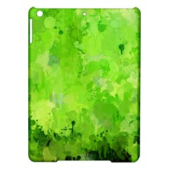 Splashes Of Color, Green iPad Air Hardshell Cases