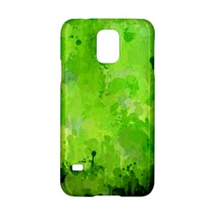 Splashes Of Color, Green Samsung Galaxy S5 Hardshell Case