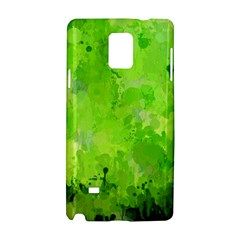 Splashes Of Color, Green Samsung Galaxy Note 4 Hardshell Case
