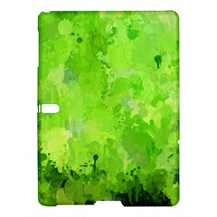 Splashes Of Color, Green Samsung Galaxy Tab S (10.5 ) Hardshell Case