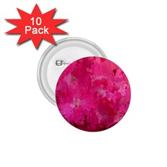 Splashes Of Color, Hot Pink 1.75  Buttons (10 pack)