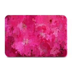 Splashes Of Color, Hot Pink Plate Mats