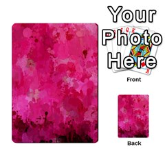 Splashes Of Color, Hot Pink Multi Purpose Cards (rectangle)
