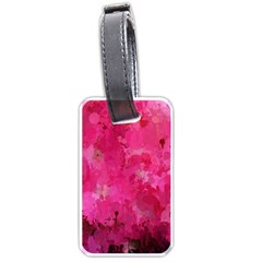 Splashes Of Color, Hot Pink Luggage Tags (Two Sides)