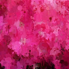 Splashes Of Color, Hot Pink Magic Photo Cubes