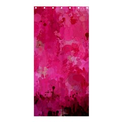 Splashes Of Color, Hot Pink Shower Curtain 36  x 72  (Stall)