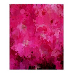 Splashes Of Color, Hot Pink Shower Curtain 60  X 72  (medium)