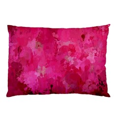 Splashes Of Color, Hot Pink Pillow Cases (Two Sides)