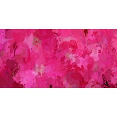 Splashes Of Color, Hot Pink YOU ARE INVITED 3D Greeting Card (8x4)