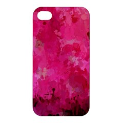 Splashes Of Color, Hot Pink Apple iPhone 4/4S Hardshell Case
