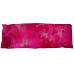 Splashes Of Color, Hot Pink Body Pillow Cases Dakimakura (two Sides)