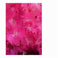 Splashes Of Color, Hot Pink Small Garden Flag (two Sides)