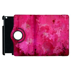 Splashes Of Color, Hot Pink Apple iPad 2 Flip 360 Case
