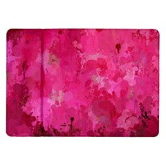Splashes Of Color, Hot Pink Samsung Galaxy Tab 10.1  P7500 Flip Case
