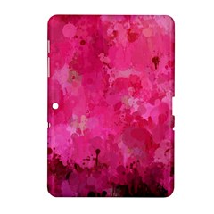 Splashes Of Color, Hot Pink Samsung Galaxy Tab 2 (10.1 ) P5100 Hardshell Case
