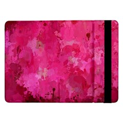 Splashes Of Color, Hot Pink Samsung Galaxy Tab Pro 12 2  Flip Case