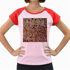 GREY TREE BARK Women s Cap Sleeve T-Shirt