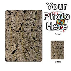 Grey Tree Bark Multi Purpose Cards (rectangle)