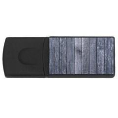 GREY FENCE USB Flash Drive Rectangular (4 GB)