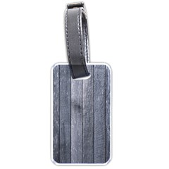 GREY FENCE Luggage Tags (One Side)