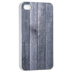 GREY FENCE Apple iPhone 4/4s Seamless Case (White)