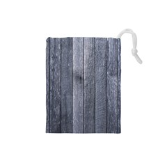 GREY FENCE Drawstring Pouches (Small)