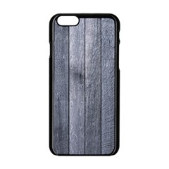 Grey Fence Apple Iphone 6/6s Black Enamel Case