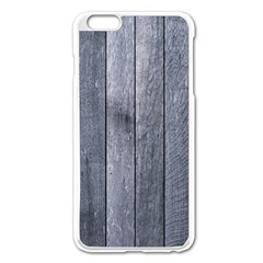 Grey Fence Apple Iphone 6 Plus/6s Plus Enamel White Case