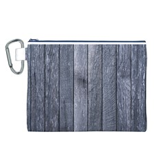 GREY FENCE Canvas Cosmetic Bag (L)