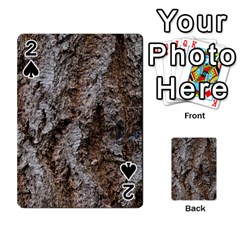 DOUGLAS FIR BARK Playing Cards 54 Designs