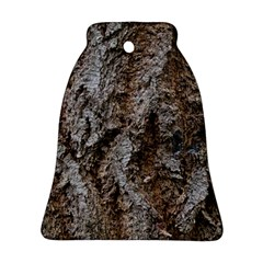 Douglas Fir Bark Bell Ornament (2 Sides)