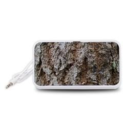 DOUGLAS FIR BARK Portable Speaker (White)