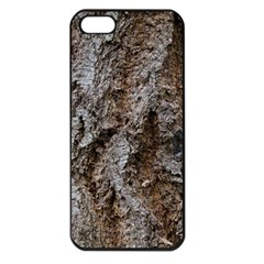 DOUGLAS FIR BARK Apple iPhone 5 Seamless Case (Black)