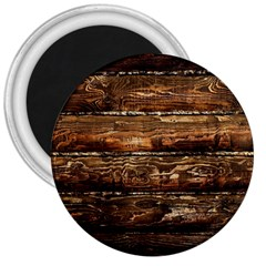 DARK STAINED WOOD WALL 3  Magnets