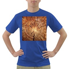CROSS SECTION OF AN OLD TREE Dark T-Shirt