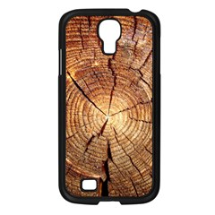 CROSS SECTION OF AN OLD TREE Samsung Galaxy S4 I9500/ I9505 Case (Black)