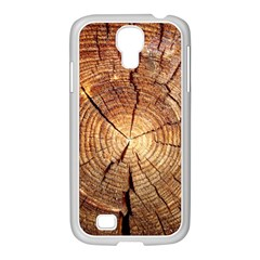 CROSS SECTION OF AN OLD TREE Samsung GALAXY S4 I9500/ I9505 Case (White)
