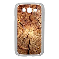 CROSS SECTION OF AN OLD TREE Samsung Galaxy Grand DUOS I9082 Case (White)
