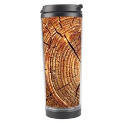 CROSS SECTION OF AN OLD TREE Travel Tumblers