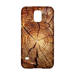 CROSS SECTION OF AN OLD TREE Samsung Galaxy S5 Hardshell Case